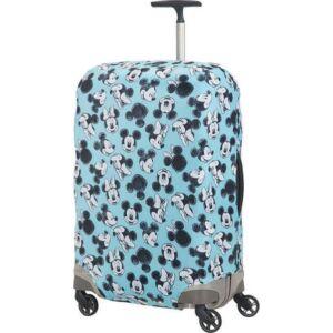 Samsonite bőröndhuzat M GLOBAL TA Disney LYCRA COVER M 122306/7923 Mickey/Minnie Blue
