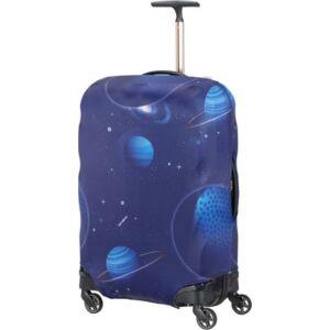 Samsonite bőröndhuzat M lycra Luggage cover 121226/2372 Űrhajós