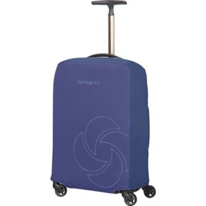 Samsonite bőröndhuzat S foldable Luggage cover 121225/1549 Éjkék
