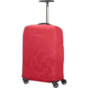 Samsonite bőröndhuzat S foldable Luggage cover 121225/1726 Piros
