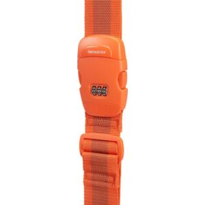 Samsonite bőröndszíj Luggage strap/lock 121314/1641 Narancs