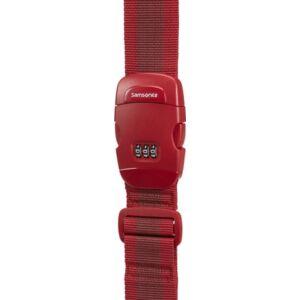 Samsonite bőröndszíj Luggage strap/lock 121314/1726 Piros