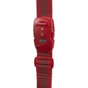 Samsonite bőröndszíj Luggage strap/tsa lock 121313/1726 Piros