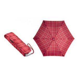 Samsonite esernyő mini női Alu Pattern 23x94,5 0,18kg Manuális 45509/4320 piros skótkockás