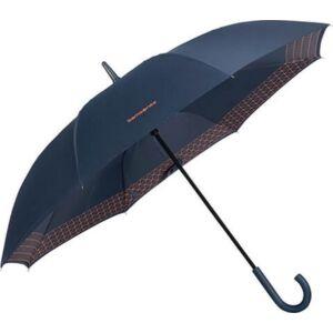Samsonite esernyő automata Up way stick Man auto open 108943/7188 Sötétkék/Mandarin narancs