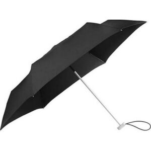 Samsonite esernyő Manual Alu Drop S/3sect. Manual FLAT 108962/1041-Black Fekete