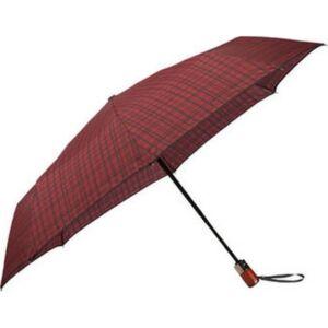 Samsonite esernyő WOOD Classic S STICK Man auto open 108979/7199 Bordó skót