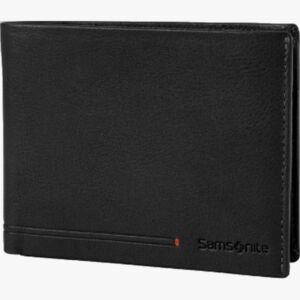 Samsonite férfi pénztárca bőr Simpla Slg 005 - B 8 Cc+2 C 135011/1041-Black