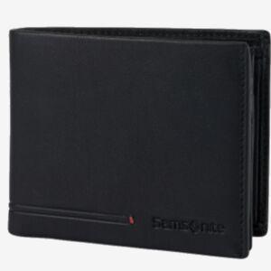 Samsonite férfi pénztárca bőr Simpla Slg 021 - B S 4Cc+Vfl+C+2C 135016/1041-Black