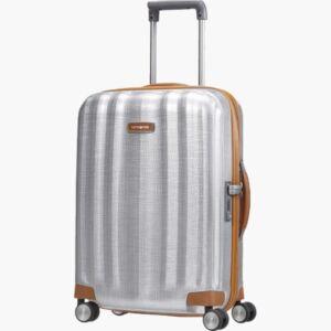 Samsonite kabinbőrönd 55/20 4kerekű bőrönd LITE-CUBE DLX 82Vx002 61242/1004_08 alumínium