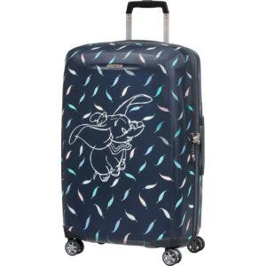 Samsonite kabinbőrönd 55/20 Disney Forever, spinner 55/20,40x55x20 120689/7718 Dumbo Feathers/Navy Blue-Kék