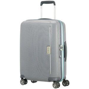 Samsonite kabinbőrönd 55/20 Mixmesh 40x55x20 2,6kg 4kerekű 106745/7084 szürke/kapri kék