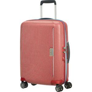 Samsonite kabinbőrönd 55/20 Mixmesh 40x55x20 2,6kg 4kerekű 106745/7085 piros/óceánkék