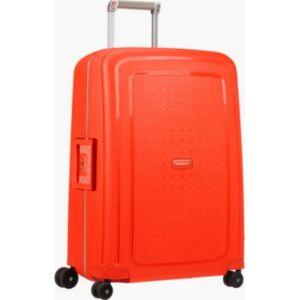 Samsonite kabinbőrönd 55/20 S'CURE 40x55x20 fluor red/ 8929 SPINNER 4kerekű 55/20 CABIN