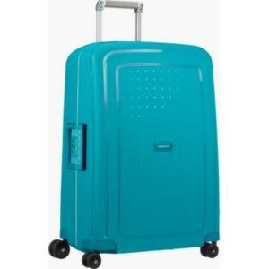 Samsonite kabinbőrönd 55/20 S'CURE 40x55x20 petrol blue/8928 SPINNER 4kerekű 55/20 CABIN
