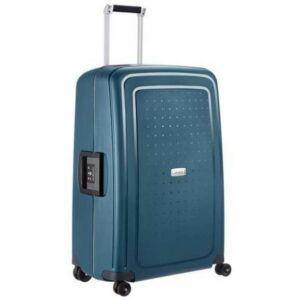 Samsonite kabinbőrönd 55/20 S'CURE DLX 44X0034kerekű 55/20 50919/1542 metál zöld