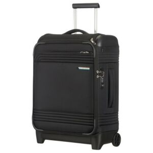 Samsonite kabinbőrönd 55/20 SMARTTOP 2kerekű 40x55x20 1,9kg textil upright fekete