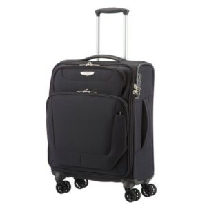 Samsonite kabinbőrönd 55/20 Spark 4kerekű textilbőrönd 87551/1041 fekete