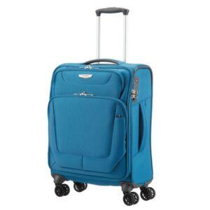 Samsonite kabinbőrönd 55/20 Spark 4kerekű textilbőrönd 87551/1686 olajkék