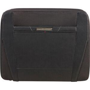 Samsonite irattáska Stationery PRO-DLX 5 Zip Folder A4+Det B 110996/1041-Black