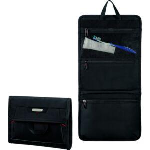 Samsonite kozmetikai táska PRO-DLX4C. 26x22x3 85229/1041 fekete akasztható