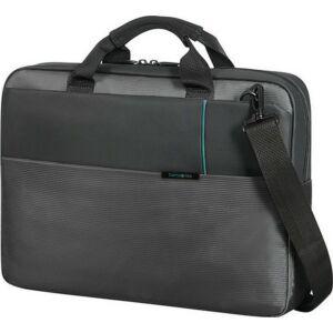 Samsonite laptoptáska 15,6 Qibyte 44x30x9 0,7kg 11L textil laptop bag 76370/1009 antracit