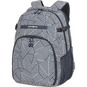 Samsonite laptopháti 15,6 Rewind Latop backpack l exp 75252/7963 tengerkék csíkos