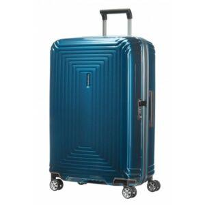 Samsonite bőrönd 81/30 NEOPULSE 44Dx004 4kerekű 81/30 65756/1541 Metallic Blue 5év garancis