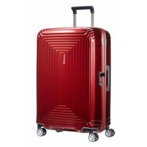 Samsonite bőrönd 81/30 NEOPULSE 44Dx004 4kerekű 81/30 65756/1544 Metallic Red 5év garancis