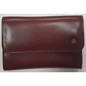 Samsonite pénztárca Női Lady Glaze SLG L WALLET 12CC+ZIP EXT M 88319/1124 - Bordeux - Bordó