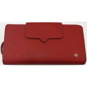 Samsonite pénztárca Női Miss Journey SLG L W L 18CC+ZIP EXT 104384/1785 Scarlet Red
