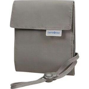 Samsonite nyakbavaló pénztárca multi-pocket neck pouch 121376/2957 Eclipse Szürke