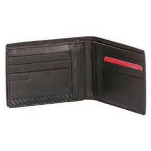 Samsonite pénztárca férfi bőr S-DERRY 9CC+VFLAP+2COMP+W fekete 60539/1041 Black