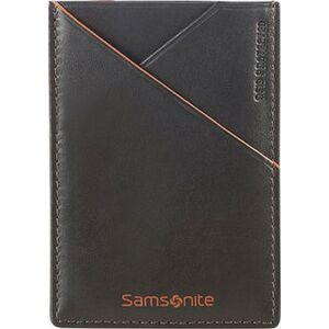 Samsonite pénztárca 7/10 Card Holder 7x10 93126/1147 barna narancs