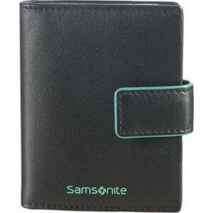 Samsonite pénztárca 8/10 Card Holder 8x11 93125/4068 fekete világoskék