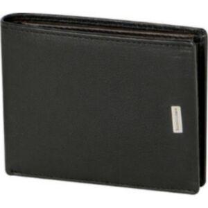 Samsonite pénztárca férfi NYX 3 SLG B 7CC HFL+W+COMP+C 103495/1041 - Black Fekete marhabőr