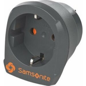 Samsonite utazó átalakító ADAPTOR 2 amerikai/európai szabvány 61607/1374 grafitszürke