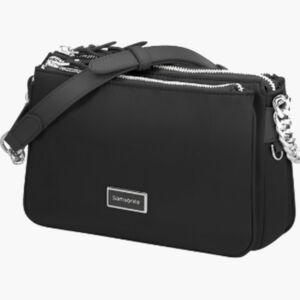 Samsonite válltáska női Karissa 2.0 H. Shoulder Bag S 3 Comp 139035/1041-Black