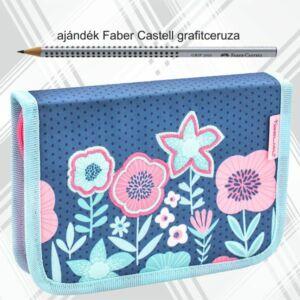 Tolltartó Belmil kihajtható 21 Customize-Me Floral 335-74  Pencil Case 14x20,5x3,5cm