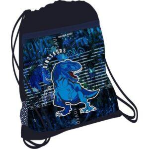 Tornazsák Belmil 20' Speedy Blue Dino dínós 336-91 43x45cm hálós sportzsák Gym Bag