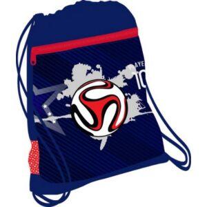 Tornazsák Belmil 20' Red Blue Football 336-91 43x45cm hálós sportzsák Gym Bag