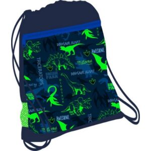 Tornazsák Belmil 21' Customize-Me Dino Triceratops 336-91 43x45cm hálós sportzsák Gym Bag