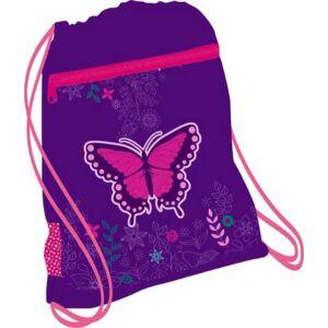 Tornazsák Belmil 21' Sporty Dreams of Butterfly pillangós 336-91 43x45cm hálós sportzsák Gym Bag