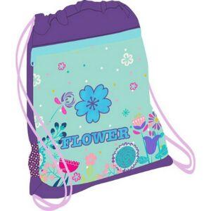 Tornazsák Belmil 21' Sporty Flower Mania virágos 336-91 43x45cm hálós sportzsák Gym Bag