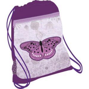 Tornazsák Belmil 21' Classy Shiny Butterfly pillangós 336-91 43x45cm hálós sportzsák Gym Bag