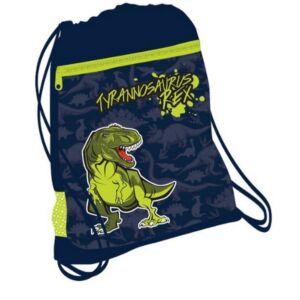 Tornazsák Belmil 21' Classy Tyrannosaurus Rex dínós, 336-91 43x45cm hálós sportzsák Gym Bag