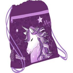 Tornazsák Belmil 21' Customize-Me Unicorn Dreams unikornisos, 336-91 43x45cm hálós sportzsák Gym Bag