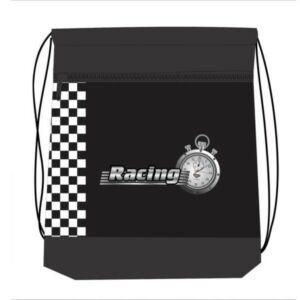 Tornazsák Belmil RACE CAR fekete autós, autó 336-91 43x45cm hálós sportzsák Gym Bag