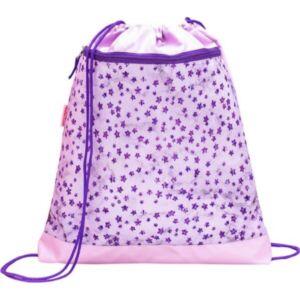Tornazsák Belmil 21' Classy Shining Star Purple-Csillagos 336-91 43x45cm hálós sportzsák Gym Bag