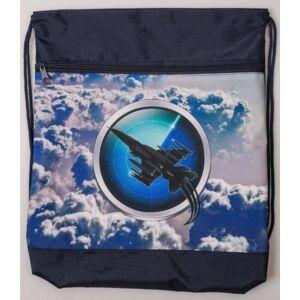Tornazsák Belmil 20 SKY UNIT kék vadászrepülő 336-91 43x45cm hálós sportzsák Gym Bag
